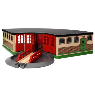 Gran Garaje de trenes Brio