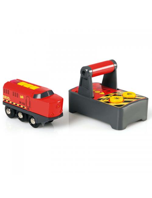 Locomotora con Control Remoto Brio