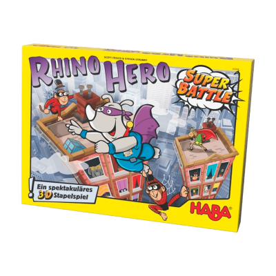 Juego Rhino Hero Super Battle 5+