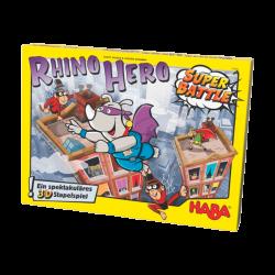 Juego Rhino Hero Super Battle 5+