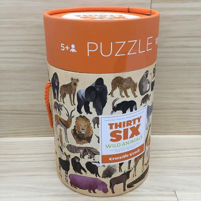 Puzzle Animales salvajes 100 piezas