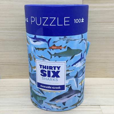 Puzzle tiburones 100 piezas