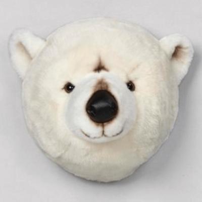 Cabeza Oso Polar de peluche