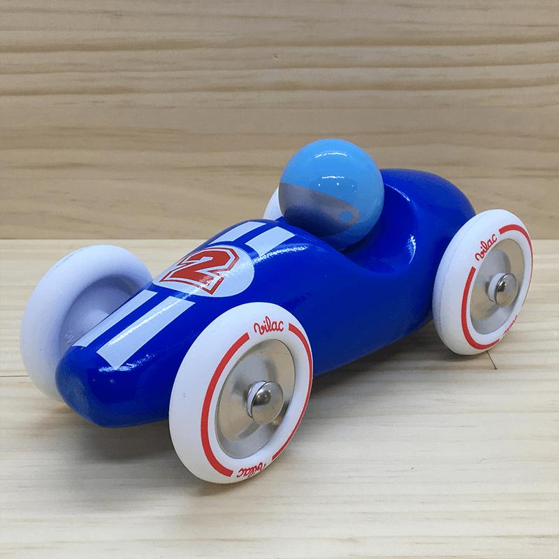 Coche carreras GM azul