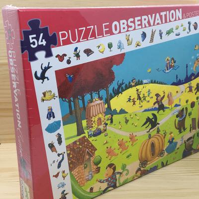 Puzzle Observación Cuentos 54 piezas