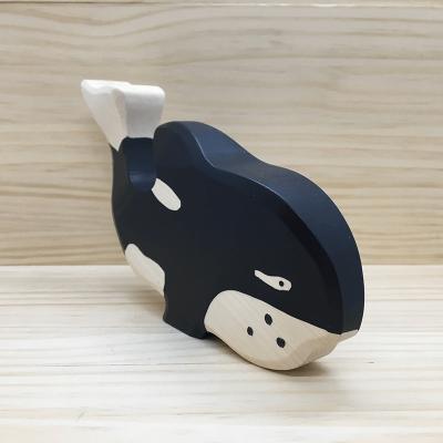 Ballena orca de madera holztiger