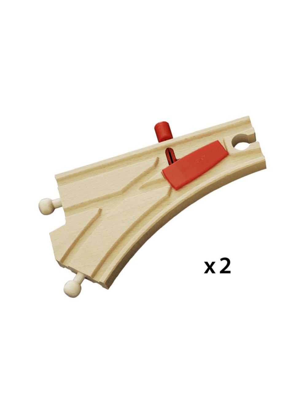 Cambio de vía mecánico Brio