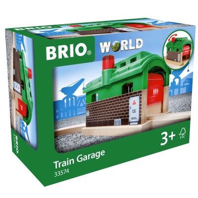 Garaje de trenes Brio