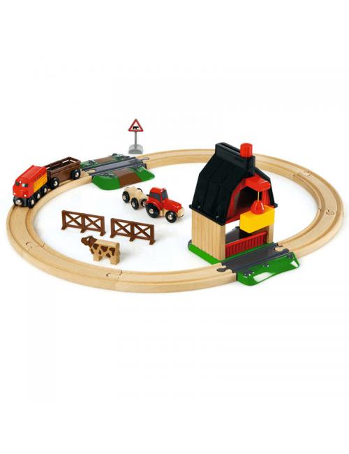 Set de Tren con Granja Brio